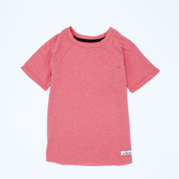 Coral tee for kids