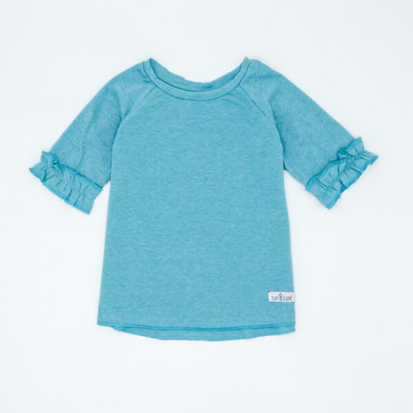 blue t-shirt for baby girls