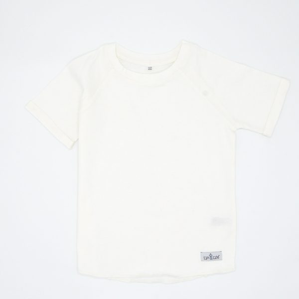 Off White Tee for Babies