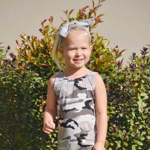 Sleeveless dress for toddlers