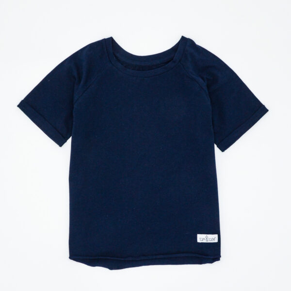 Navy blue tee for kids