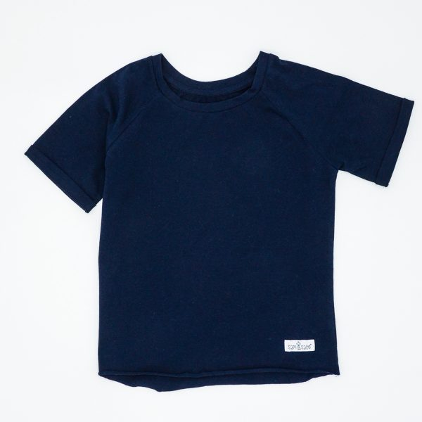 Navy tee for toddlers