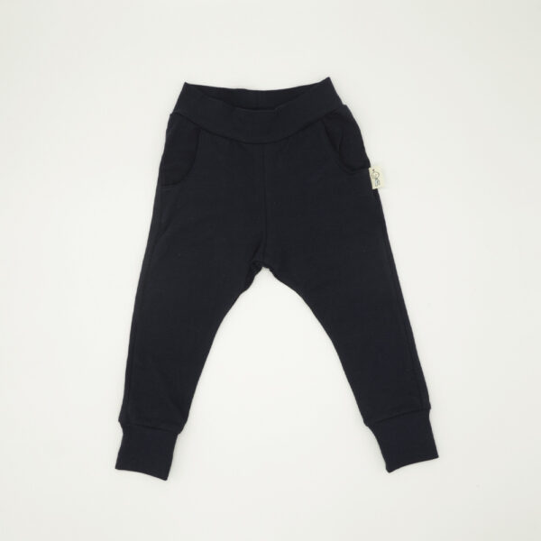 Infant tracksuit pants in navy blue