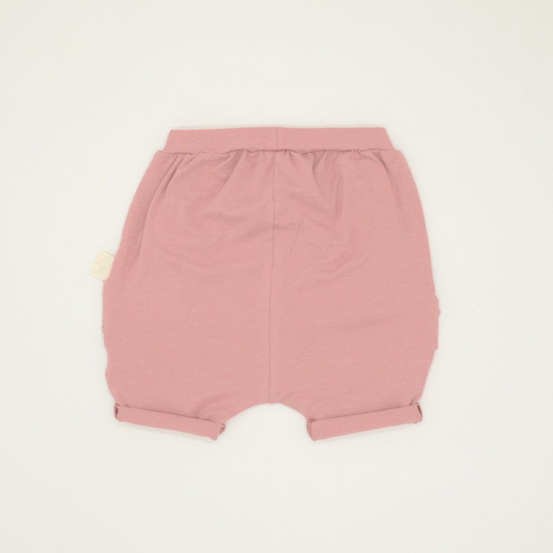 Pink shorts for baby girls